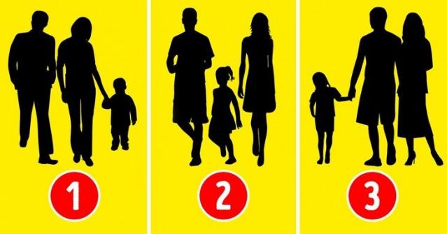 Psikolojik Test: Hangisinin Aile Olmadığını Tahmin Edin