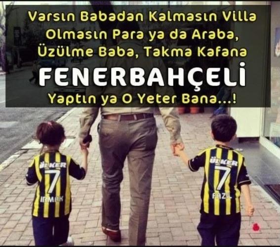 Resimli Fenerbahçe Sözleri