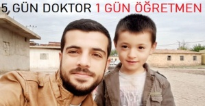 5 GÜN DOKTOR 1 GÜN ÖĞRETMEN..