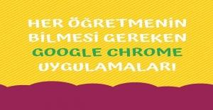 Her Öğretmenin Mutlaka Öğrenmesi Gereken Google Chrome Uygulamaları