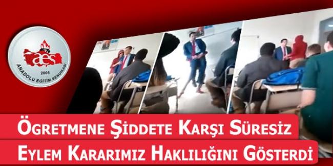 Anadolu Eğitim Sendikası: Öğretmenlere Yapılan Şiddete Karşı Eylem Planı Aldı!