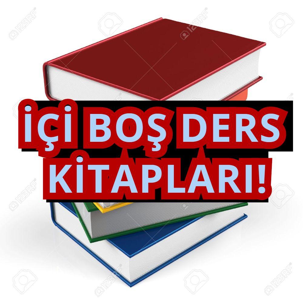 İçi Boş Ders Kitapları !