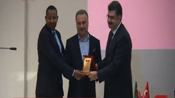 Millî Eğitim Bakan Yardımcısı Orhan Erdem: Etiyopyalı öğrencilerin mezuniyet törenine katıldı