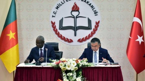 Milli Eğitim Bakanı İsmet Yılmaz: Kamerun ile Mesleki Eğitimde Teknoloji Transferi Projesi Uygulama Protokolü İmzaladı