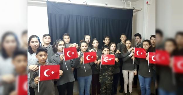 Öğrencilerden Kahraman Mehmetçik İçin Muhteşem Klip
