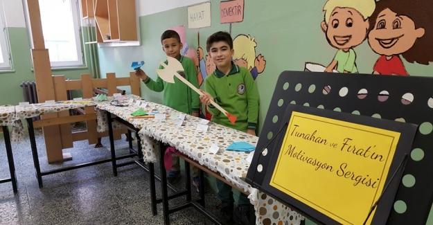 "ÖĞRENCİLERDEN ""MOTİVASYON SERGİSİ"""