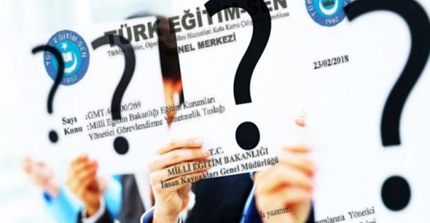 Türk Eğitim Sen: Yönetici Görevlendirme Yönetmelik Taslağı İle İlgili Görüşlerini MEB'e İletti