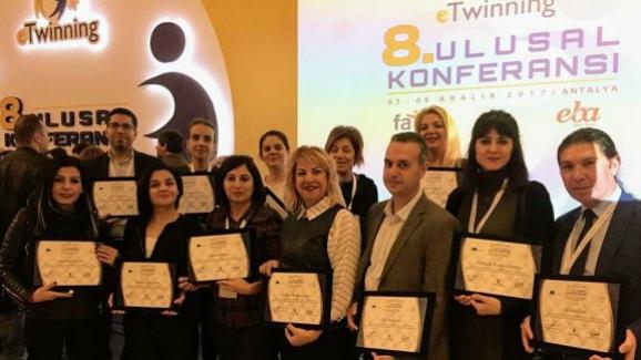 Türkiye, e Twinning faaliyetlerinde Avrupa birincisi Oldu