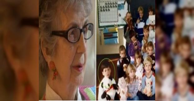90 Yaşındaki Öğretmen Televizyondan Tanıdık Birini Gördü. Eski Okul Yıllarına Bakınca Gözlerine İnanamadı