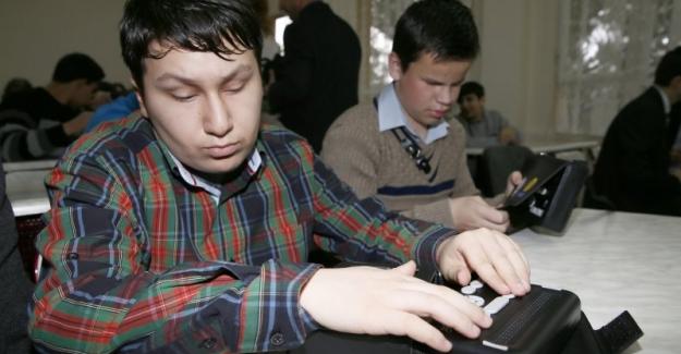 MEB: Görme Yetersizliği Olan Öğrencilerine Braille Okuma Yazma Cihazı Pilot Uygulaması Başlattı