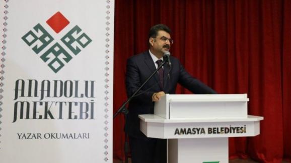 """Millî Eğitim Bakan Yardımcısı Erdem, """"Anadolu Mektebi Yazar Okumaları"""" paneline katıldı"""