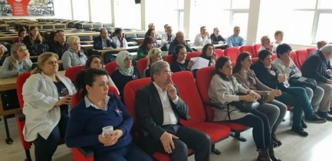 Öğretmenlere EBA ve TALIS bilgilendirme toplantısı yapıldı.