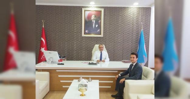 Sedat Değer'den İzmir İl Milli Eğitim Müdürü Ömer Yahşi'ye Ziyaret