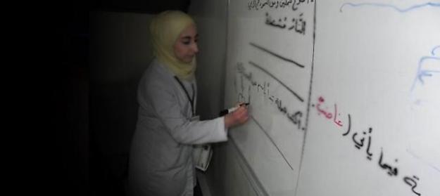 """Suriyeliler de """"okuma yazma"""" seferberliğine dahil edildi"""
