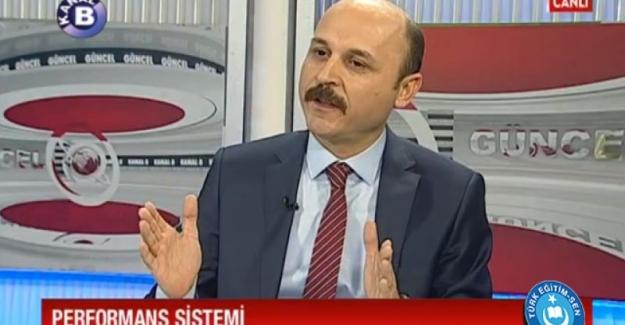 Türk Eğitim Sen Genel Başkanı Talip Gelyan: Öğretmen Not Veren Olmalıdır, Not Verilen Değil