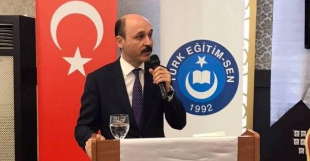 Türk Eğitim Sen Genel Başkanı Talip Gelyan: Öğretmenlerimiz Şamar Oğlanı değildir...