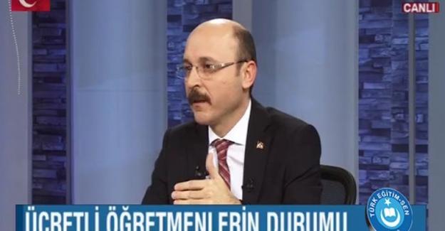 Türk Eğitim Sen Genel Başkanı Talip Gelyan: Performans sistemine karşı her türlü hukuki ve demokratik hakkımızı kullanacağız.