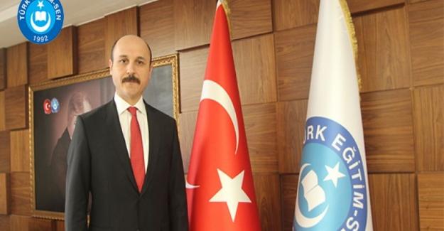 Türk Eğitim-Sen Genel Başkanı Talip Geylan'ın, öğretmen atamaları hakkında yaptığı basın açıklamasıdır.