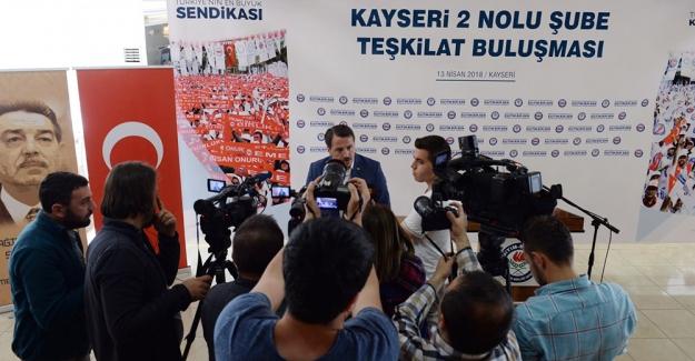 Ali Yalçın: Eğitimcilere yönelik şiddete karşı yasal düzenleme mutlaka yapılmalıdır