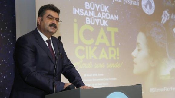 Bakan Yardımcısı Erdem, Bilim ve Fikir Festivali Ödül Töreni'ne katıldı