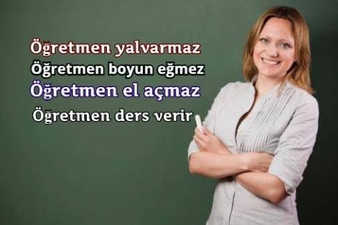 Eğitim İş Öğretmenlerin İtibarsızlaşmasına HAYIR !