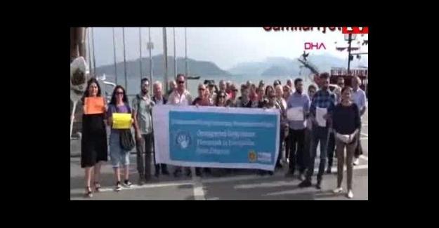 Ortaöğretime geçiş sistemi protesto. 'Dayatmalı eğitim istemiyoruz'