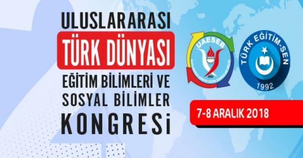 TES: 2. Ulauslararası Türk Dünyası Eğitim Bilimleri Ve Sosyal Bilimler Kongresi Düzenliyor