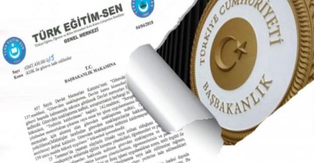 Türk Eğitim Sen: Göreve İadelerde Kayıp Yaşanmaması İçin talepte Bulundu