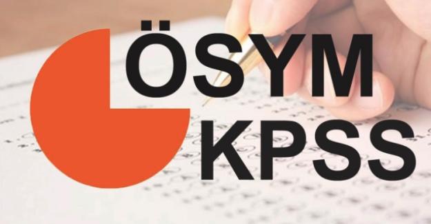 2018 Yılı KPSS Başvuruları Başladı. İşte KPSS Takvimi