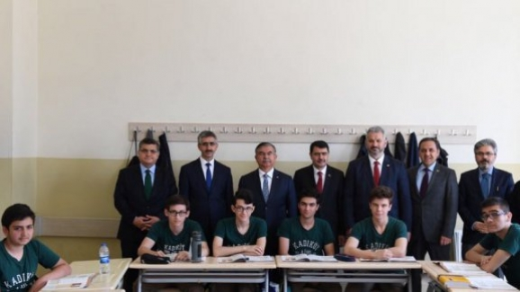 Bakan Yılmaz, İstanbul imam hatip liseleri müdürleri çalışma toplantısına katıldı