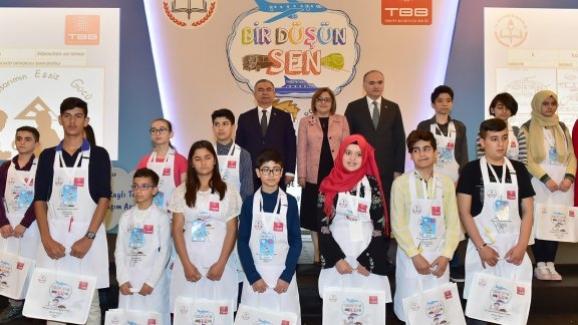 Bakan Yılmaz, Millî Ulaşım Teknolojileri Tasarım Yarışması Türkiye Sergisi'nin kapanış programına katıldı