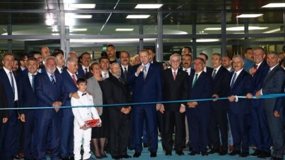 Cumhurbaşkanı Erdoğan Kayseri'de Fen Lisesinin Açılışını Yaptı