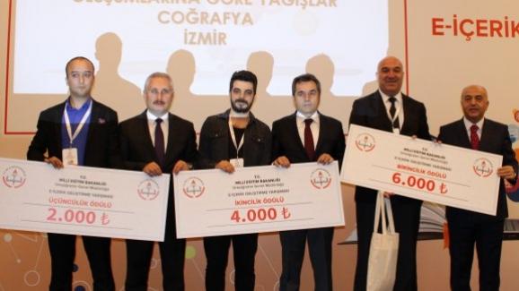 E-İçerik Geliştirme Yarışması ödül töreni yapıldı