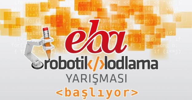 EBA Robotik Kodlama Yarışması Başlıyor