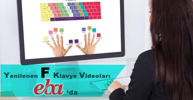 F Klavye Kullanımıyla İlgili Videolar EBA'da