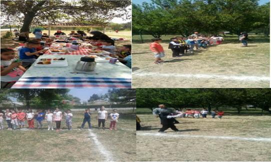 İlkokul Öğrencilerinden Piknik Keyfi