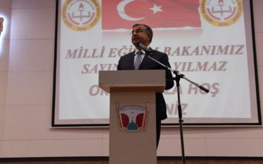 """Milli Eğitim Bakanı Yılmaz: """"2019 sonrasında evlatlarımıza daha kaliteli eğitim vereceğiz"""""""