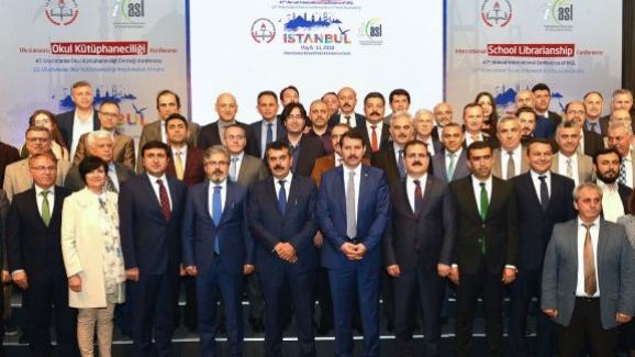 Müsteşar Yusuf Tekin, Uluslararası Okul Kütüphaneciliği Konferansı kapanış toplantısına katıldı