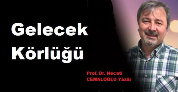 Prof. Dr. Necati CEMALOĞLU Yazdı: Gelecek Körlüğü