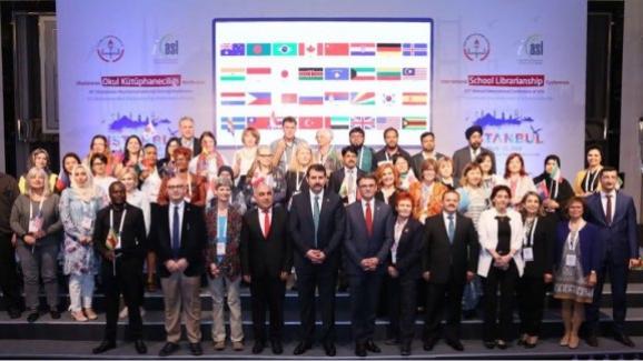 Uluslararası 47. Okul Kütüphanecileri Konferansı İstanbul'da yapıldı