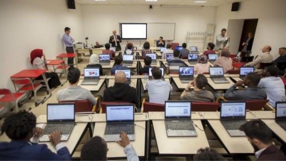Yabancı öğrenciler teknik gezilerine YEĞİTEK ile başladı