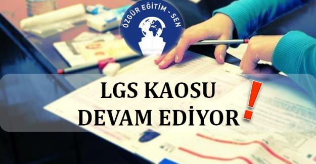 LGS Kaosu Tercih Ve Yerleştirme Süreciyle Devam Ediyor
