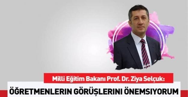 Milli Eğitim Bakanı Ziya Selçuk'tan Tüm Öğretmenlere Mektup Var