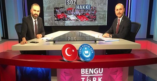 """Türk Eğitim Sen Genel Başkanı Talip Gelyan Açıkladı: """"MEB'deki"""" Kul Hakkı Gaspçıları Derhal Temizlenmelidir"""