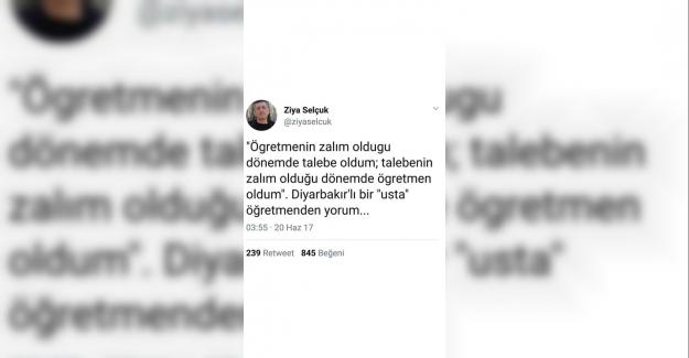Yeni Milli Eğitim Bakanı Ziya Selçuk'tan Eğitime Dair Notlar !