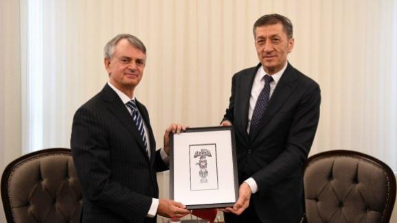 Bakan Selçuk, Kanada Büyükelçisi Cooter'ı kabul etti