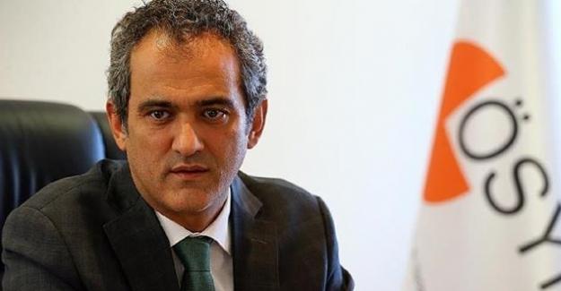 Milli Eğitim Bakanı Yardımcısı ÖSYM Başkanı Prof. Dr Mahmut Özer Oldu