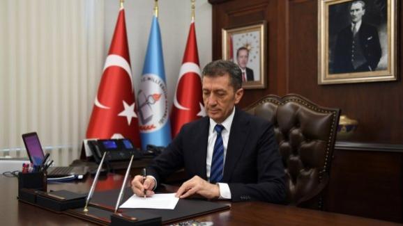 Milli Eğitim Bakanı Ziya Selçuk'tan Kurban Bayramı Mesajı