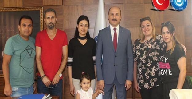 Ücretli Öğretmenlerden Türk Eğitim Sen Genel Başkanı Talip Gelyan'a Ziyaret