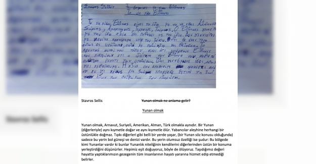 Yunan Öğrenci Irkçı Öğretmene Öyle Bir Ders Verdi ki!